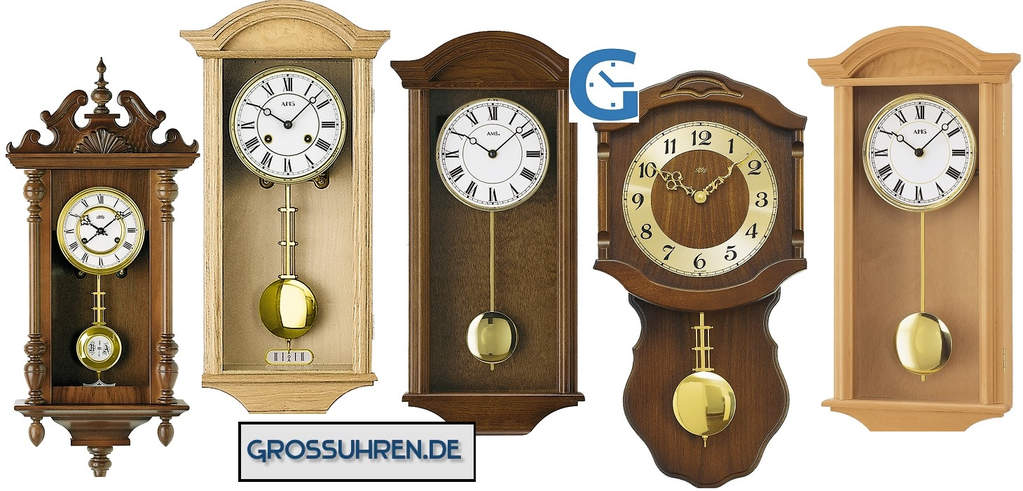 antique pendulum wall clocks ams grossuhren.de
