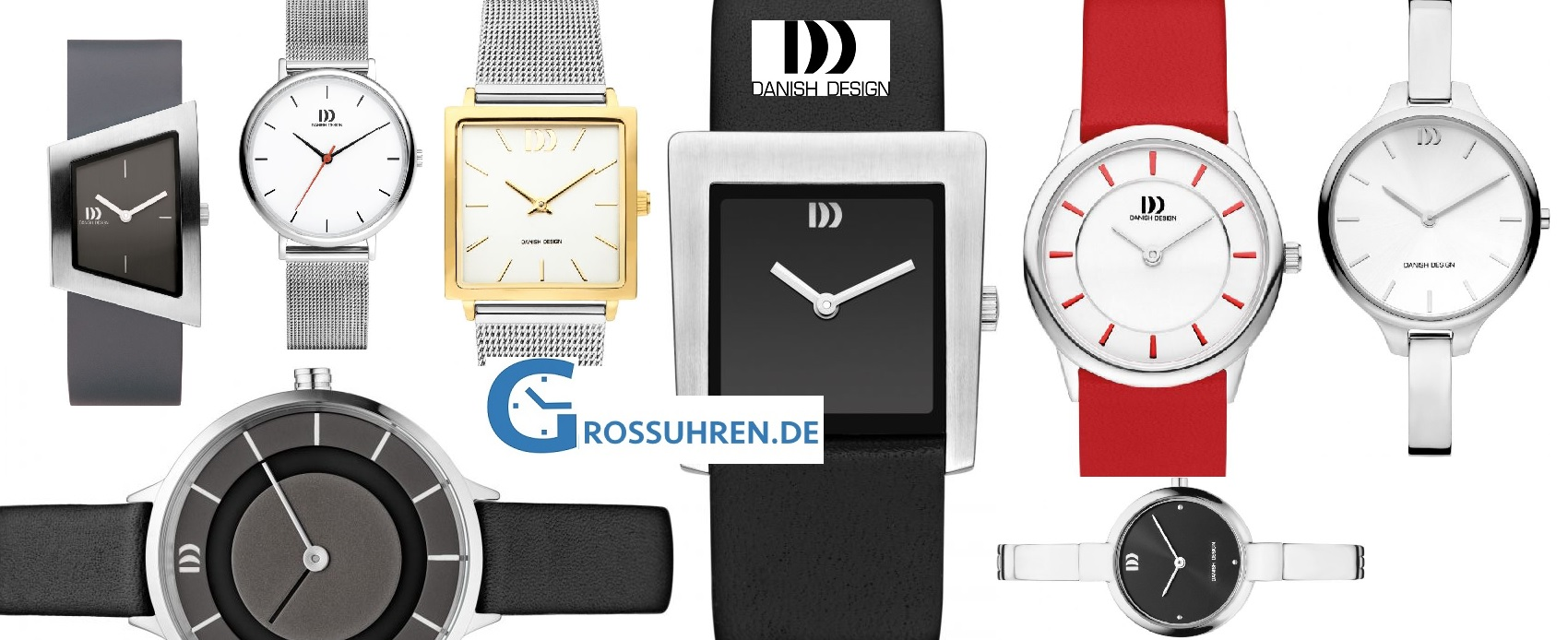 Danish Design Damenuhren schlichte Eleganz am Handgelenk