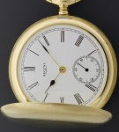 pocket watches genuine gold and silver