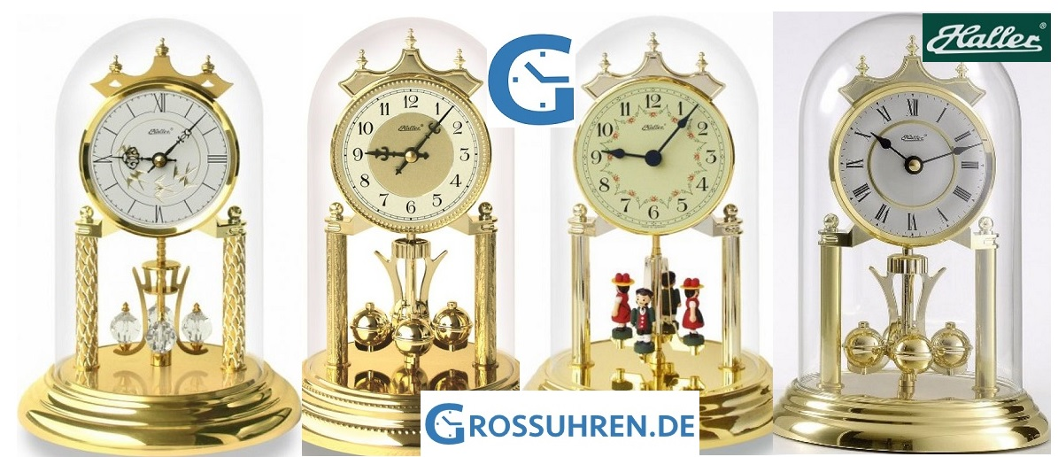 Year clocks haller-grossuhren.de