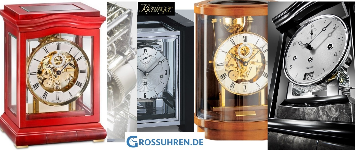 kieninger table clocks grossuhren.de