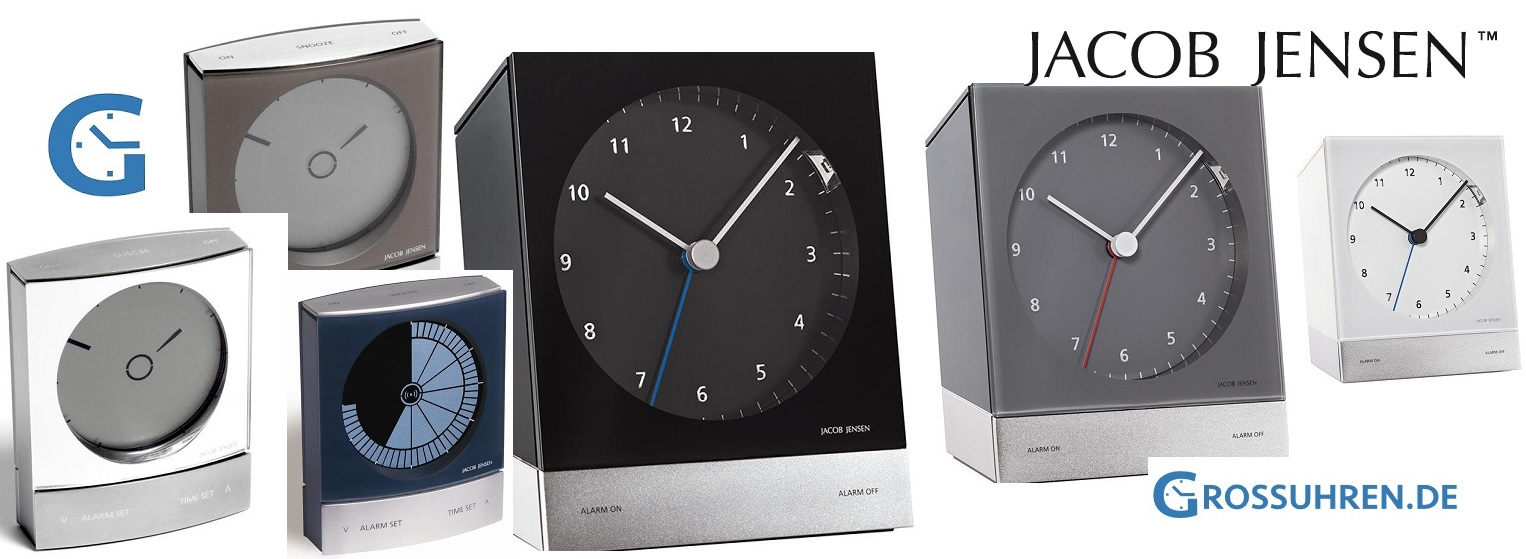design alarm clock by jacob jensen