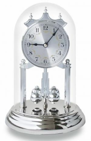 Year clock silver torsion pendulum Haller 121285001