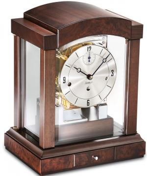 Mantel clock Kieninger 1242-22-03 walnut