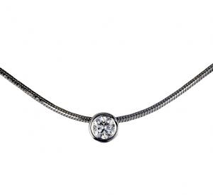 Collier Brillant Anhänger 0,07 ct