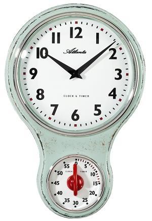 Admirable Kitchen Clock Atlanta 6124 6 Home Interior And Landscaping Synyenasavecom