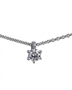 Collier Brillant Anhänger 0,17ct