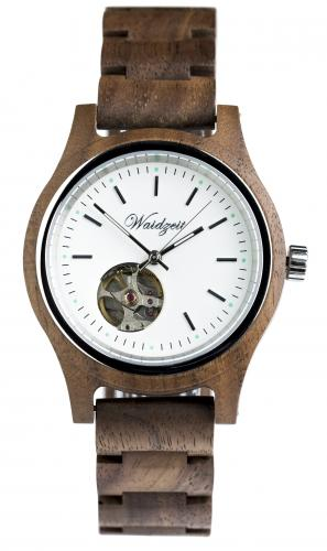 Wooden Walnut watch 38mm Waidzeit GK03