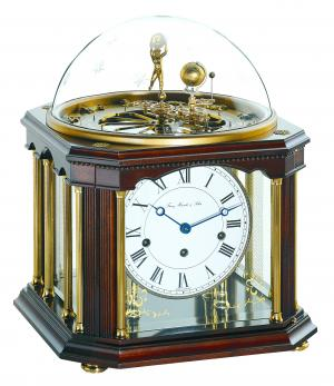 Tellurium III table clock Hermle 22948-Q10352