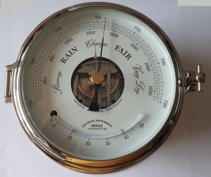 Baro- Thermometer 180mm Mühle MS-51-10-180-CR