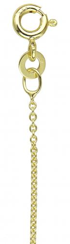 Round anchor chain 30 yellow gold 333/-