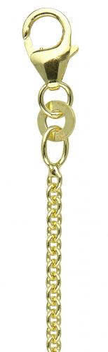 Round anchor chain 50 yellow gold 333/-