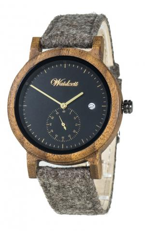 Wooden watchr Ø42mm Waidzeit XX00S-20LOBR
