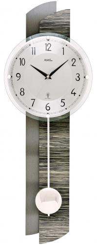 Radio Controlled Wall Clock AMS Design 5323