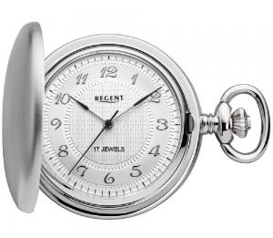 Regent pocket watch stainless P14