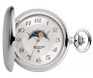 Pocket watch with moon phase Regent 32P160