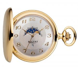 Pocket watch with moon phase Regent 32P161