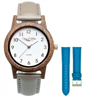 Wood watch Waidzeit Sissy SA03-18LEMB