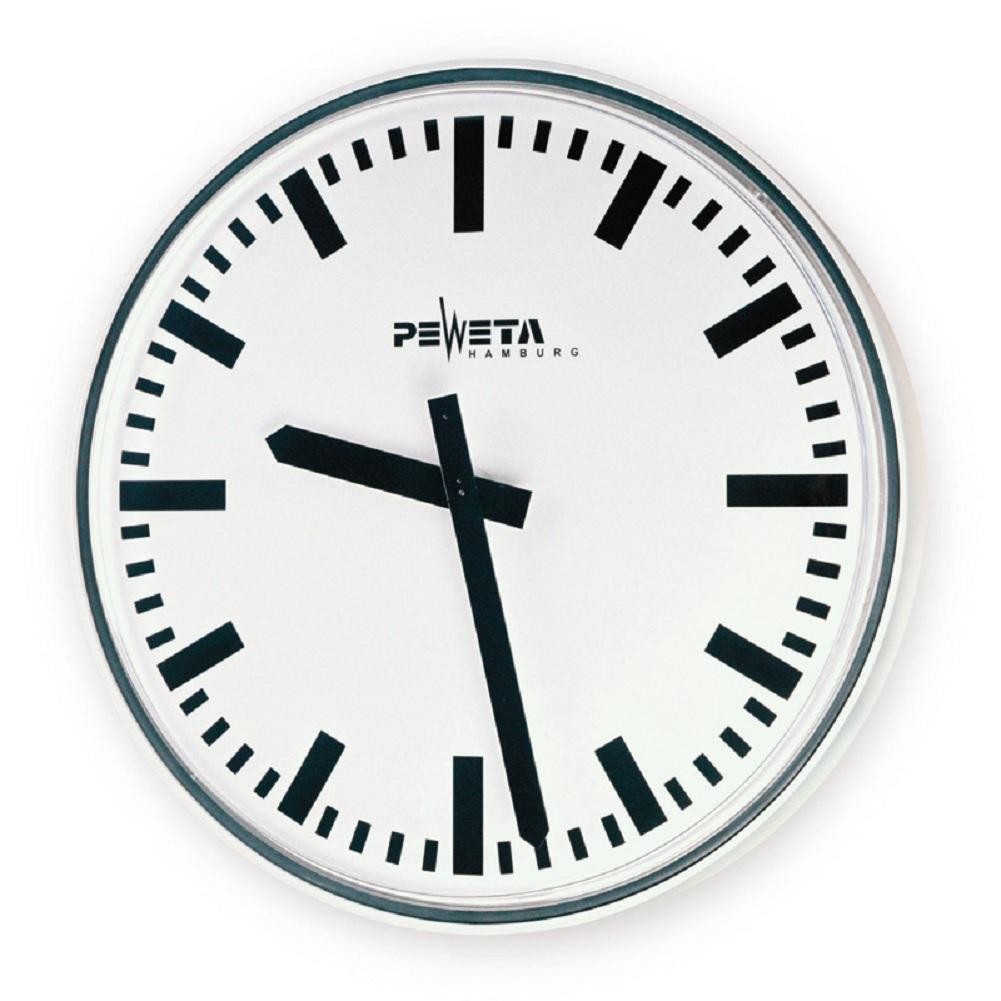 Qutdoor Wall Clock Peweta 52 750 821 90 2cm Grossuhren De