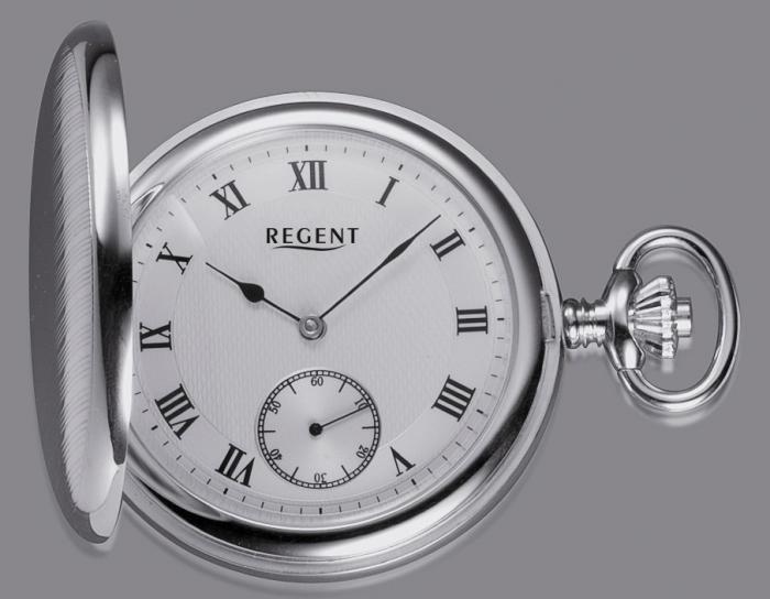 Taschenuhr Sterling Silber kaufen mechanisch Handaufzug Regent 2173 561c7bb2f3